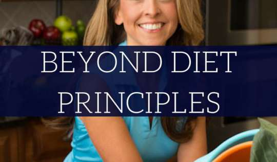 General principles to prevent weight gain